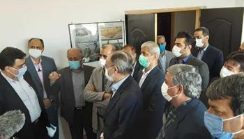 بازدید معاون وزیر نیرو از تصفیه خانه فاضلاب شهرستان گنبد کاووس