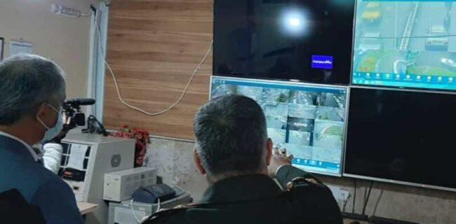کنترل رفت و آمد خودروها در گنبد با ۳۰ دوربین ترافیکی انجام می شود