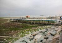 پسروی آب دریای خزر معیشت ساحل نشینان بندر ترکمن را به خطر انداخته است.